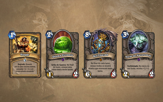 Naxxramas últimas cartas