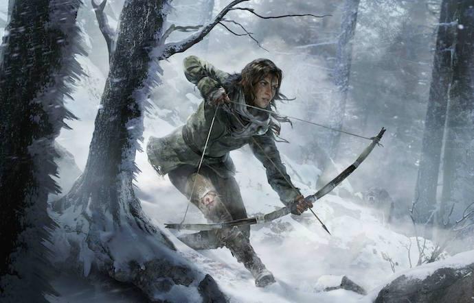 Novo Tomb Raider - Rise of the Tomb Raider na Microsoft