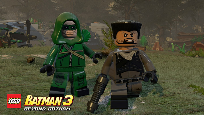 Expans o de lego batman 3 traz her is de arrow for Codigos de lego batman