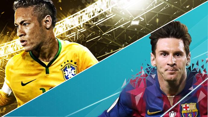 PES vs FIFA - times brasileiros - Konami e EA