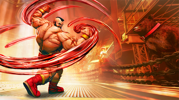 Street Fighter 5 - Zangief