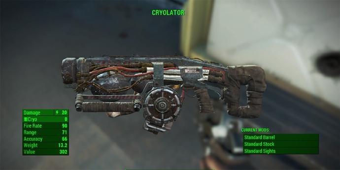 Fallout 4: como pegar a arma Criogenizador