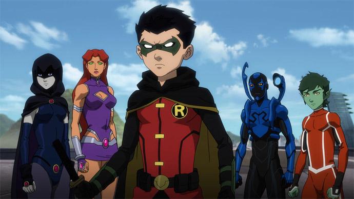 Liga da Justiça e Jovens Titãs