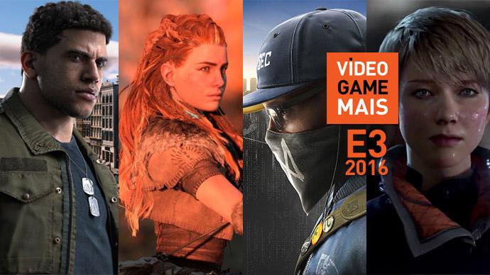 E3 2016: jogos mais esperados