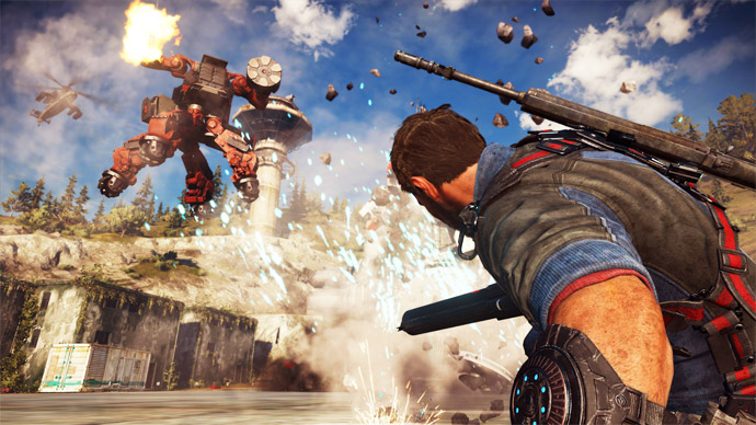 Just Cause 3 - Mech