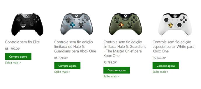 Controle Elite Xbox One