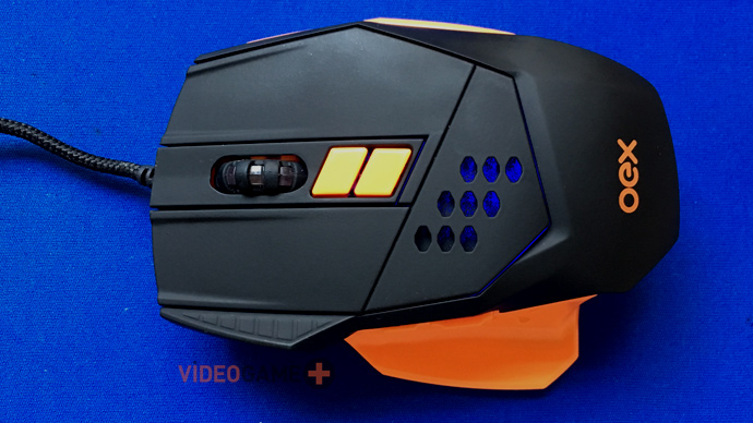 mouse gamer OEX Steel MS 305