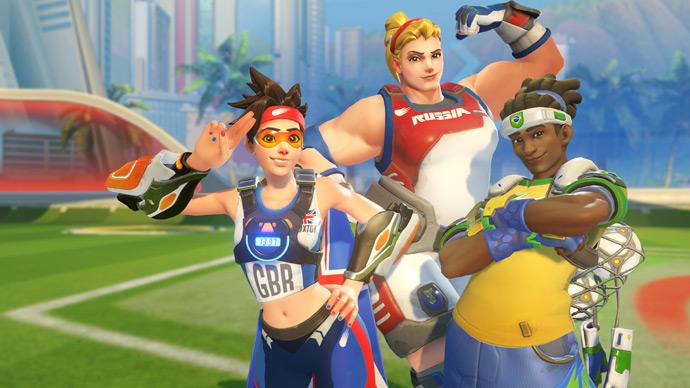 Overwatch - jogos de verão 2016