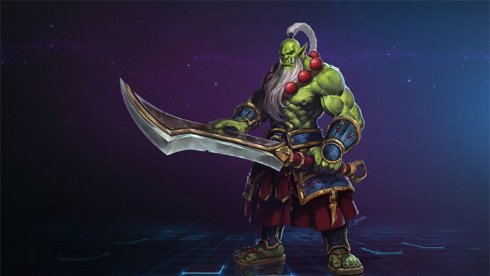 Heroes of the Storm - Samuro