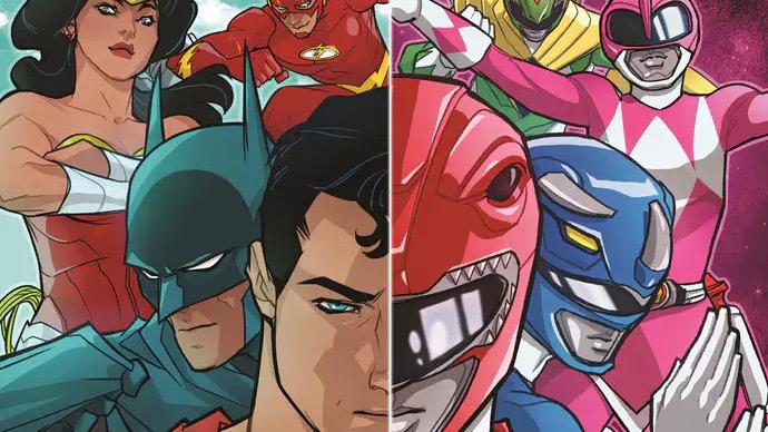 Liga da Justiça encontra Power Rangers