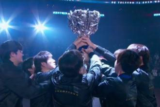League of Legends - SKT campeã mundial