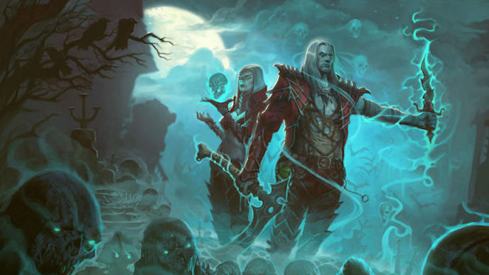 BlizzCon 2016 - necromante em Diablo 3