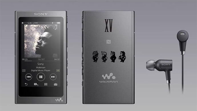 Walkman inspirado em Final Fantasy XV