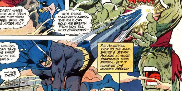 Hulk vs Batman