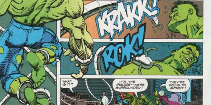 Hulk vs Octopus