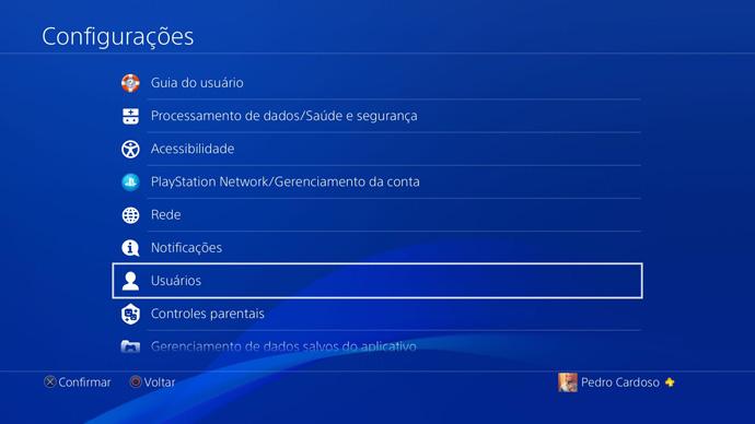 PS4 - usuários