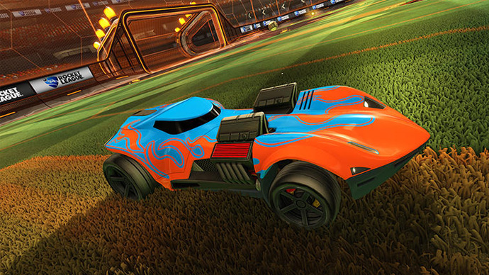 Rocket League com Hot Wheels