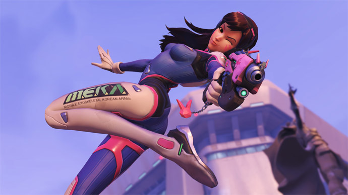 D.Va de Overwatch em Heroes of the Storm
