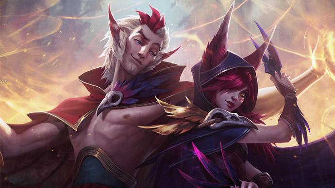 League of Legends- Rakan e Xayah