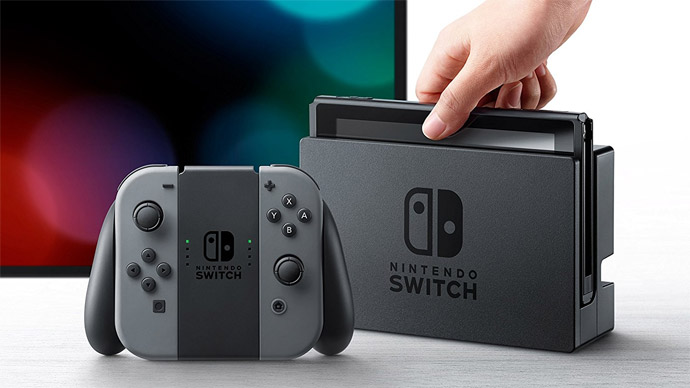 Nintendo Switch é o console mais vendido