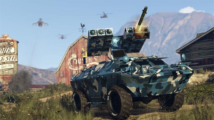 GTA Online - DLC Gunrunning