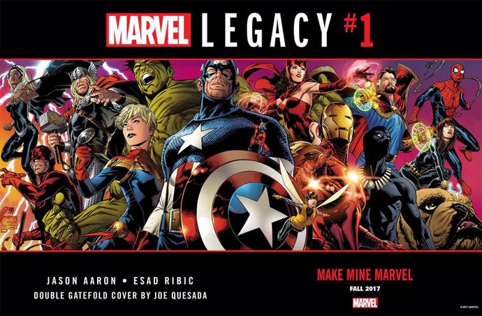Marvel Legacy com Vingadores pré-históricos