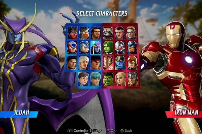 Marvel vs Capcom Infinite - Jedah