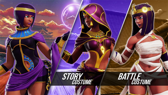 Street Fighter 5: Menat