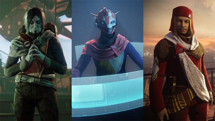 Destiny 2 - facções