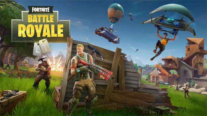 Fortnite é acusado de copiar Battlegrounds