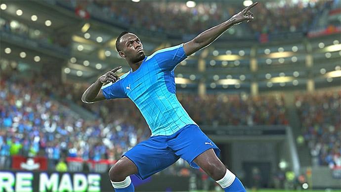 PES 2018 - Usain Bolt