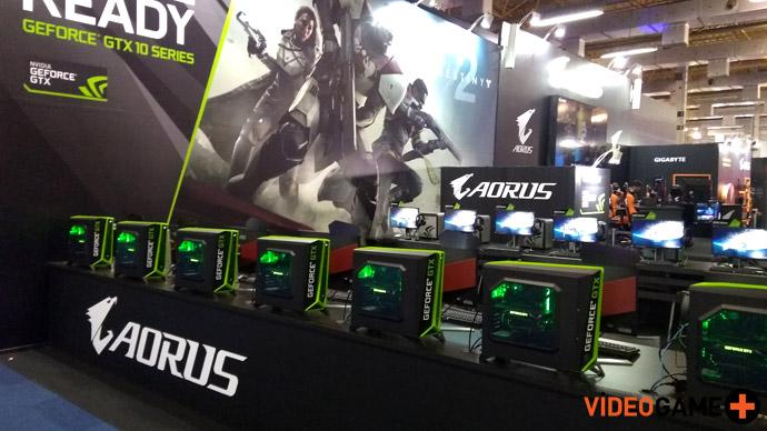 Destiny 2 com Aorus e Nvidia
