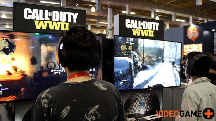 Call of Duty: WWII na BGS 2017