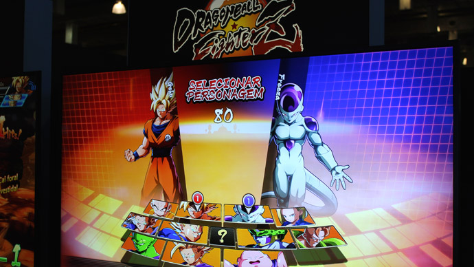 Dragon Ball FighterZ na BGS