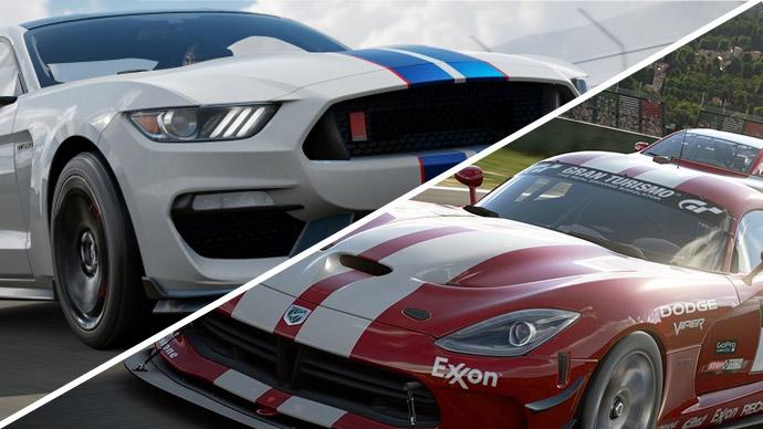 Forza 7 vs GT Sport