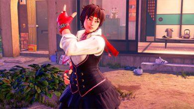 Street Fighter 5 - Sakura