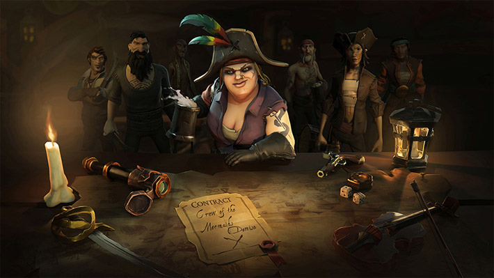 Anunciada beta fechada de Sea of Thieves