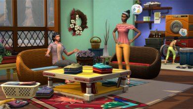 The Sims 4 Dia de Lavar as Roupas