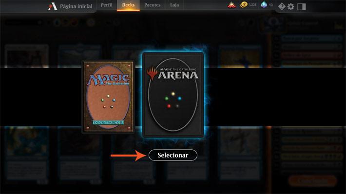 MTG Arena: como mudar a sleeve da carta | Videogame Mais